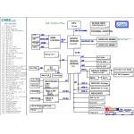5.99. Схема материнской платы ноутбука Asus C90S - rev 2.0G.
